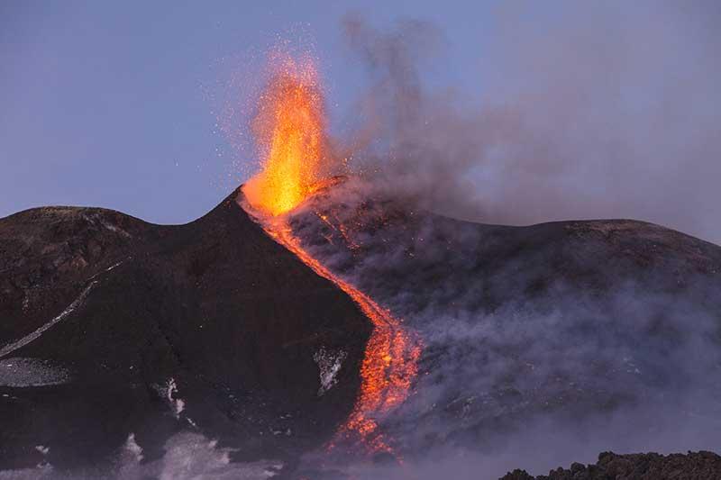 Mt Etna Eruption