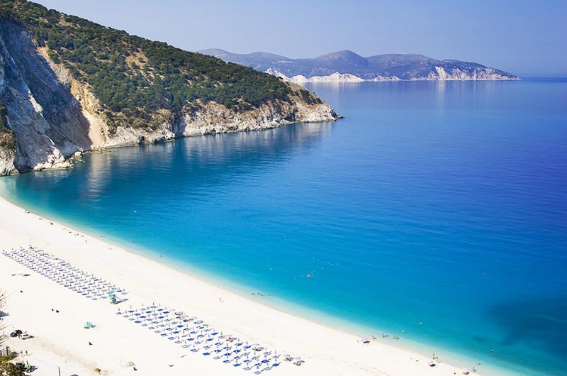 Myrtos Beach, Kefalonia Island