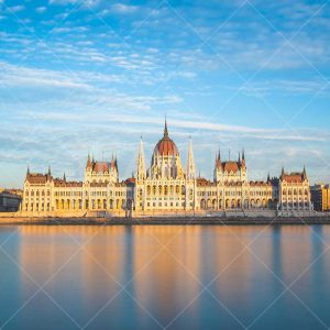 Hungarian Parliament During the Day