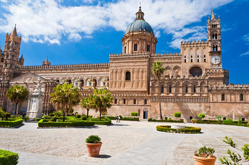 Palermo Cathedral exterior