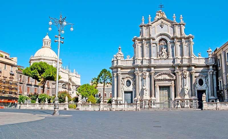 St Agatha Cathedral of Catania, Sicily
