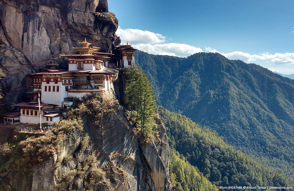 Tigers Nest and landscapes, Bhutan