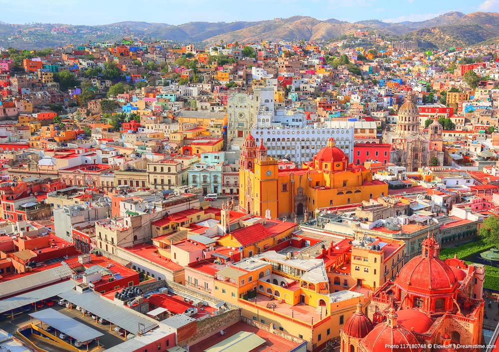 Beautiful Cities in Mexico