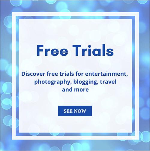 Free Trials - banner
