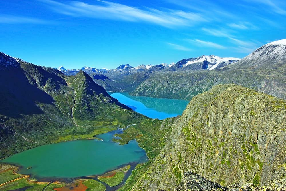 Views of Jotunheimen National Park