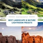 Best Landscape and Nature Lightroom Presets