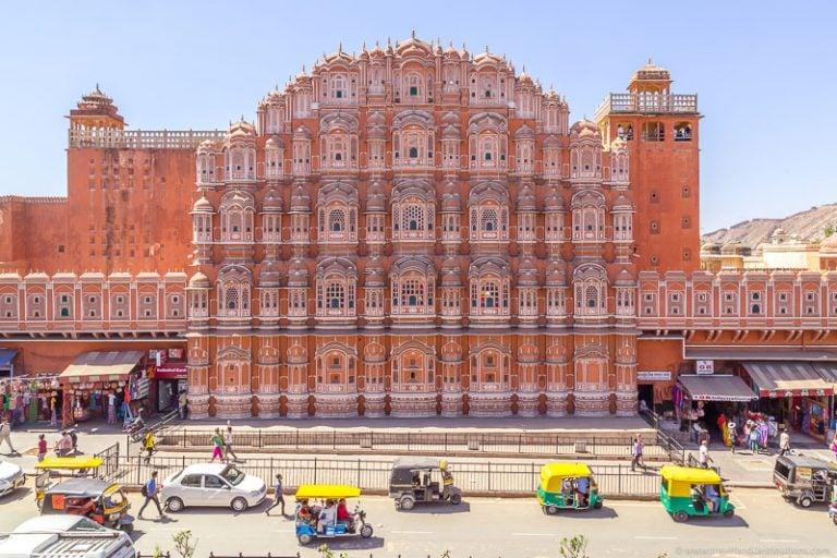 Jaipur attractions - Hawa Mahal