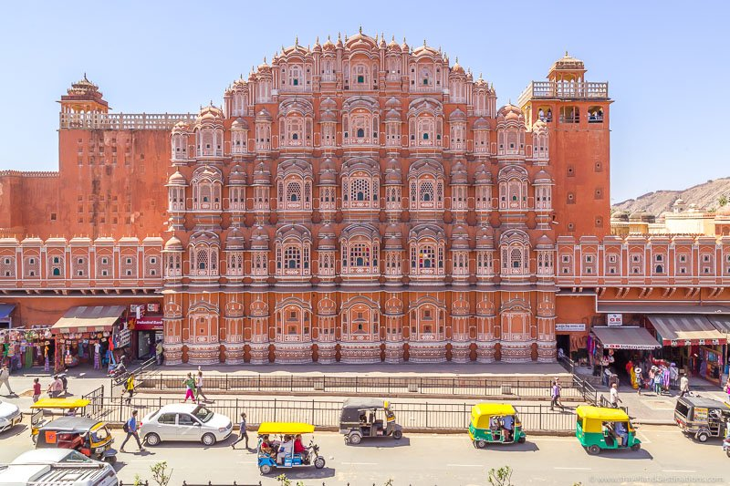 Jaipur attractions - Hawa Mahal