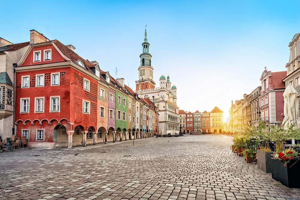 Poznan streets