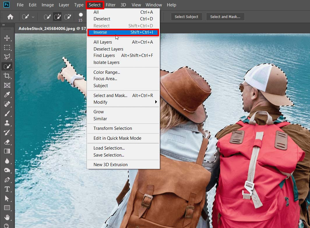 how-to-edit-travel-photos-photoshop-tutorial-selection-and-inverse-selection