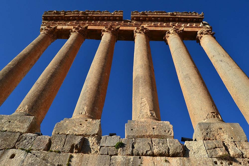 Baalbeck temples and ruins