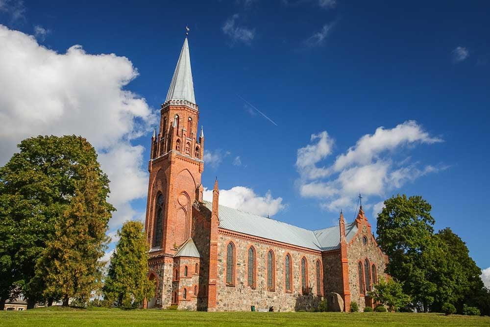Church in Viljandi