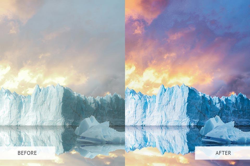 Colourful Landscape - Actions