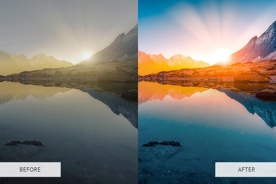 HDR Effect preset - example