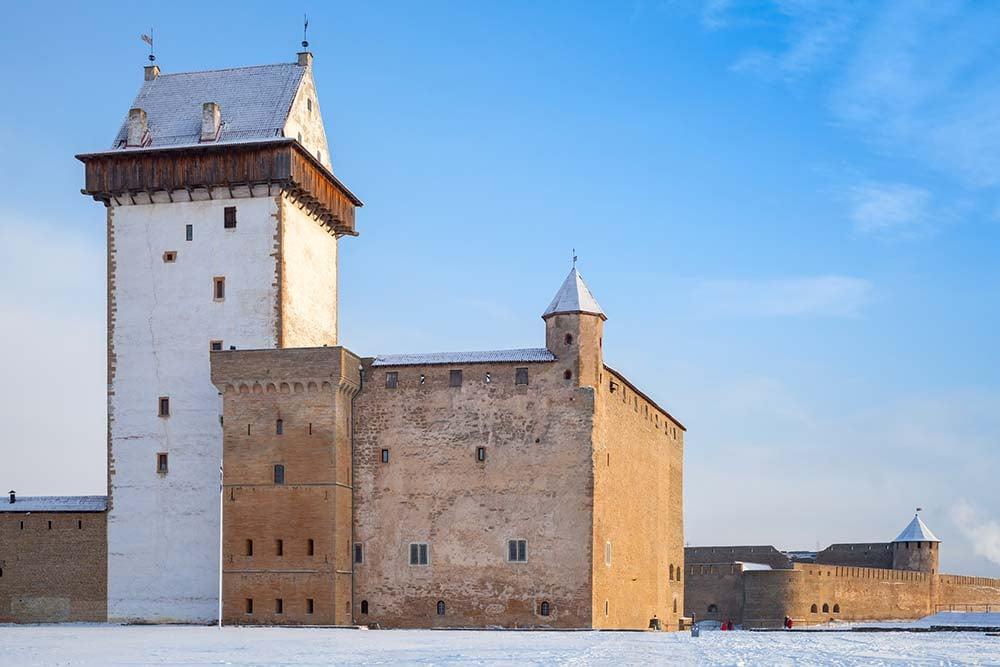 Hermann castle, Narva town, Estonia