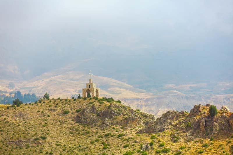 Kadisha Valley and chapel
