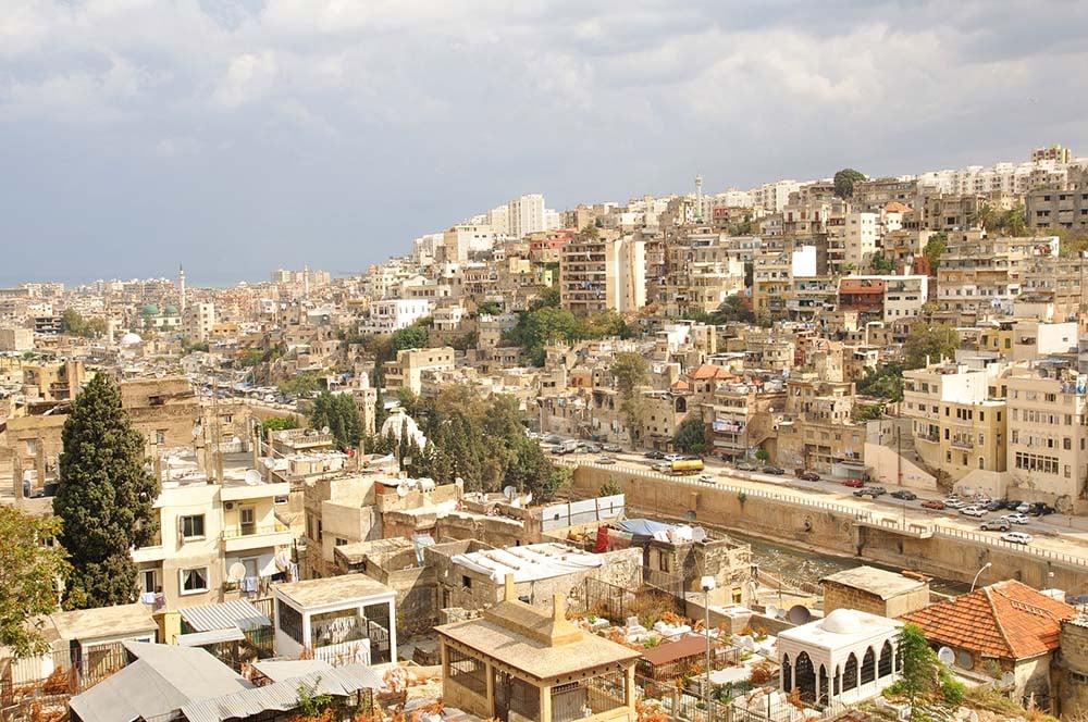 Tripoli skyline - Lebanon