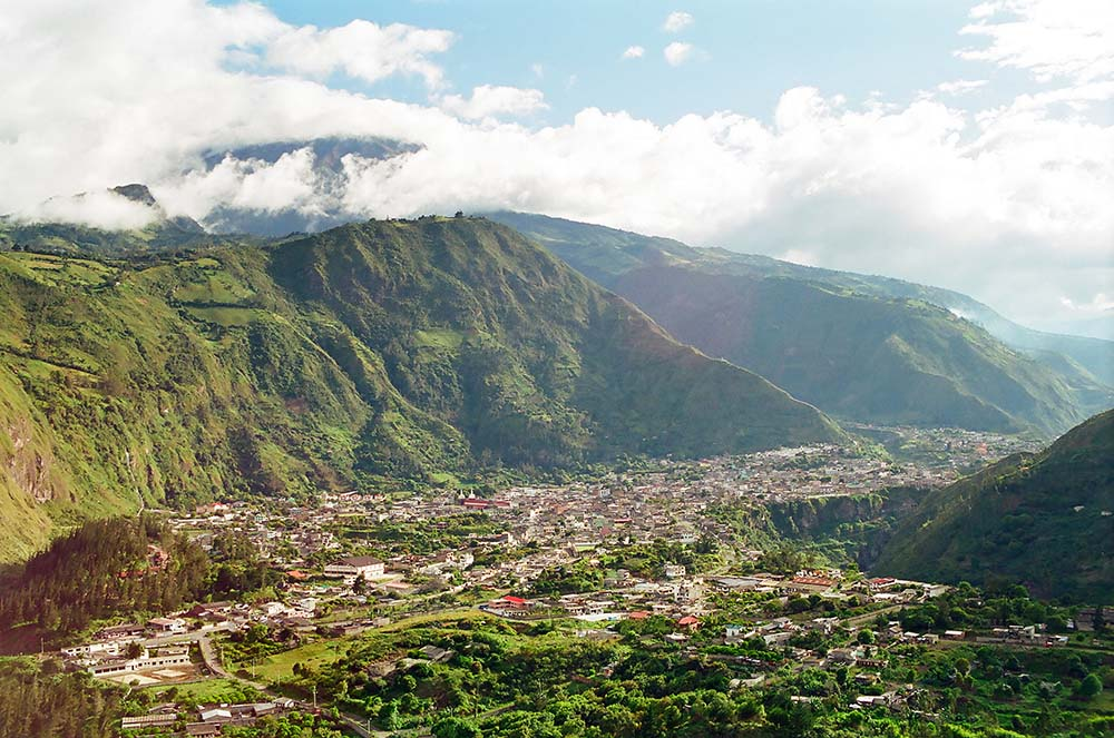 Banos in Ecuador