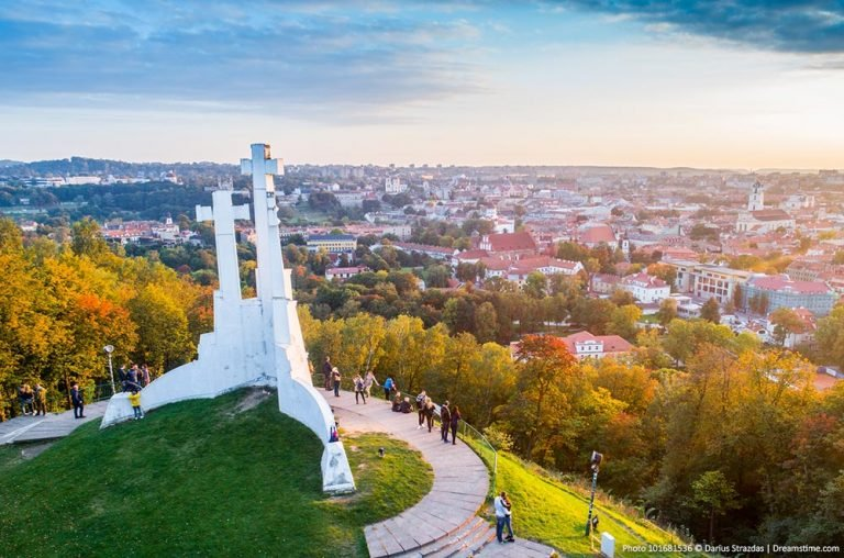 Beautiful places in Lithuania - Vilnius
