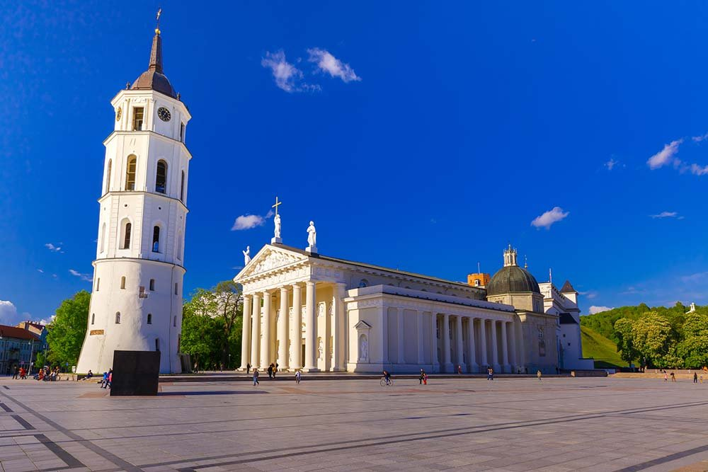 Cathedral Square - Vilnius