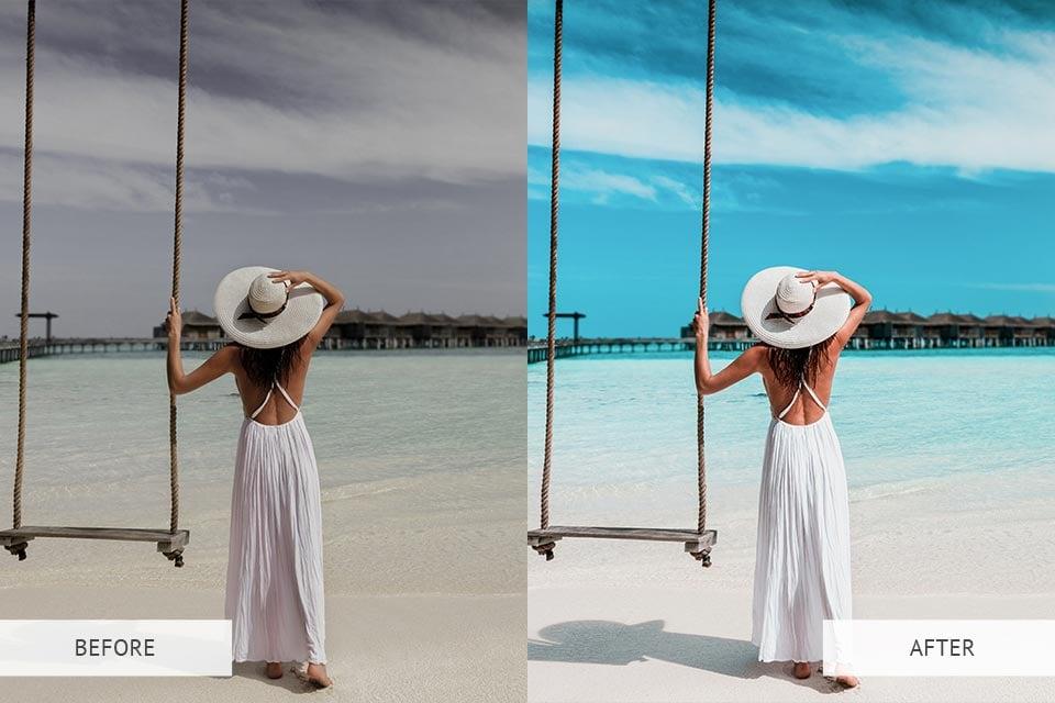 Example - LR Maldives