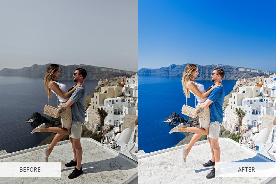 Example - LR Mobile - Santorini