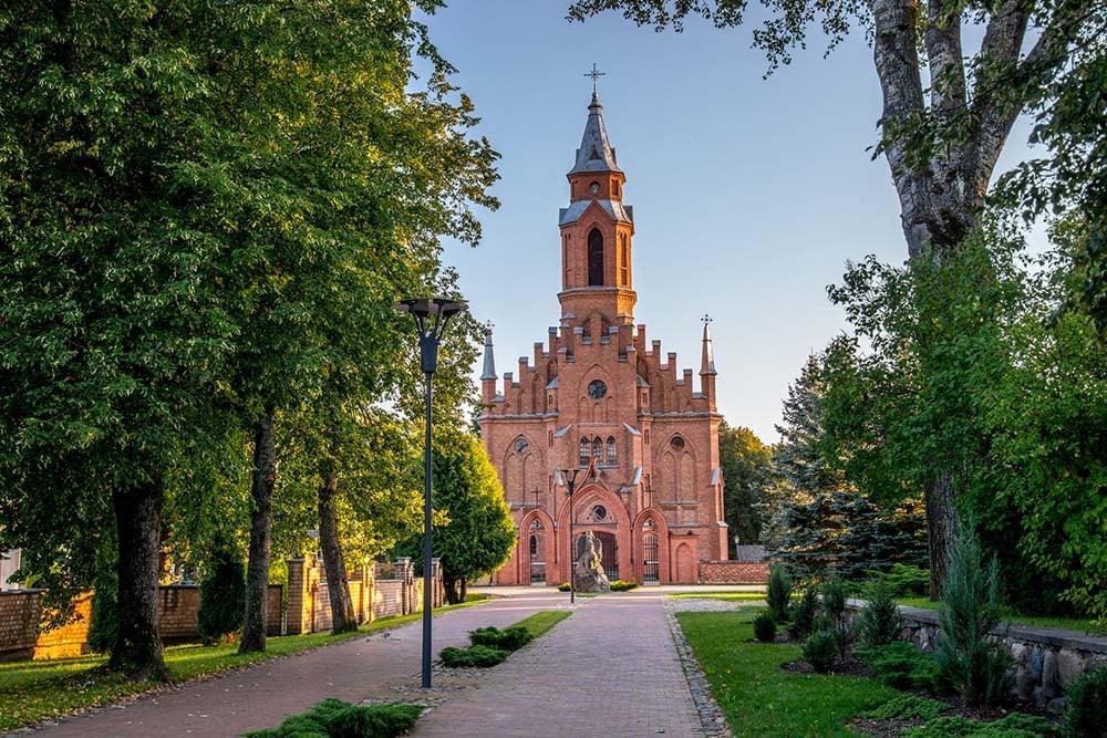 Kernave Church