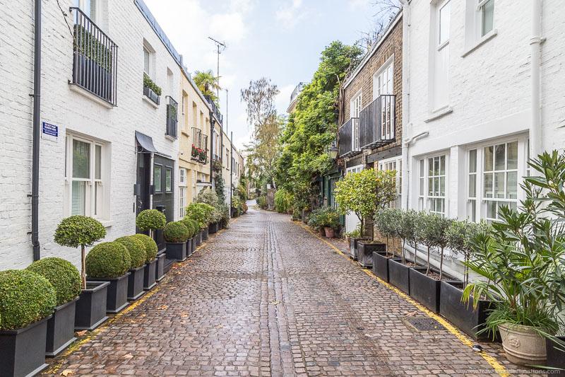 Kynance Mews, Cute street in London