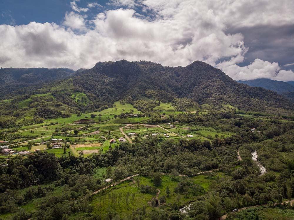 Mindo Valley landscapes