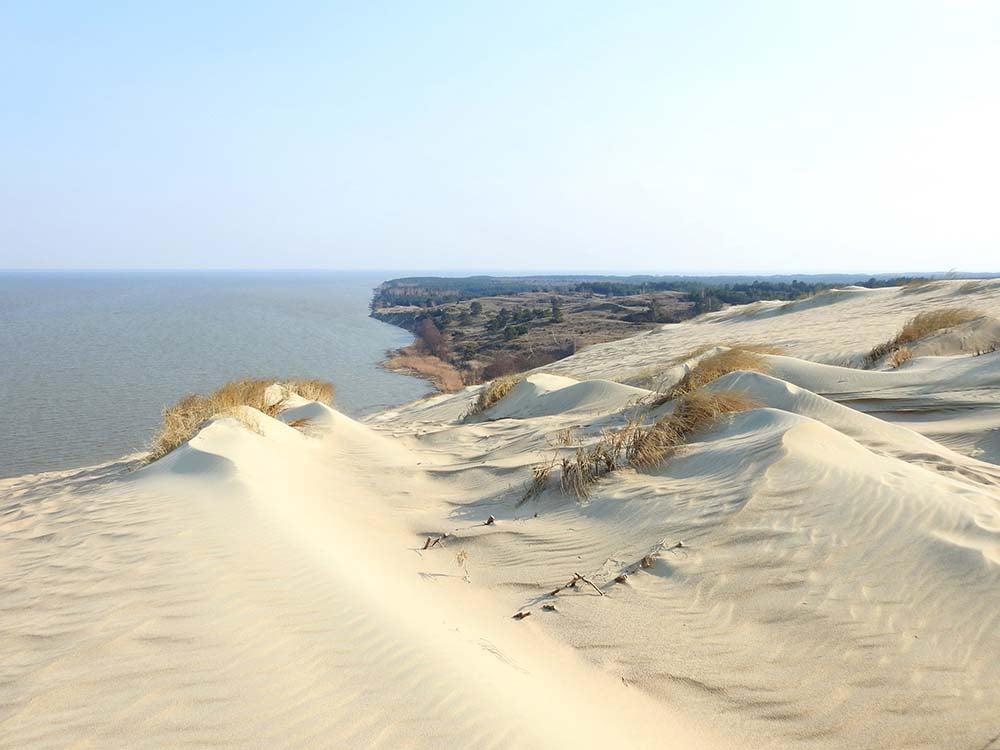 Neringa sand dunes