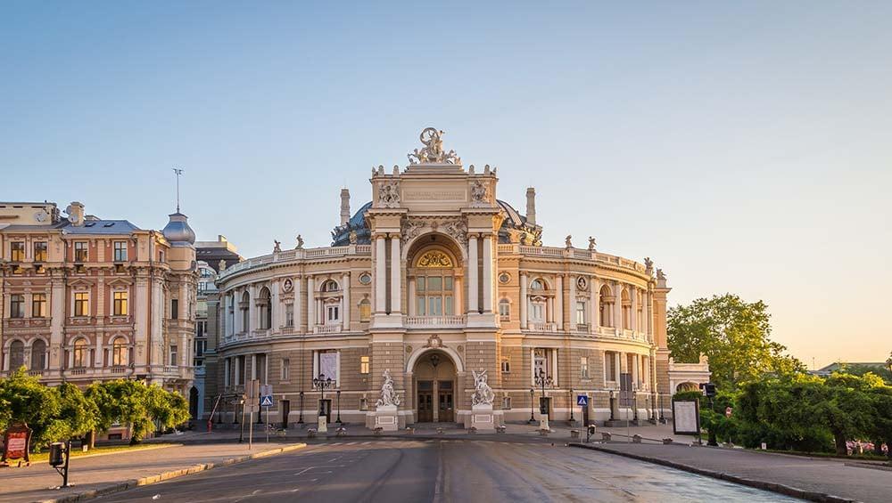 Odessa Opera House in Ukraine