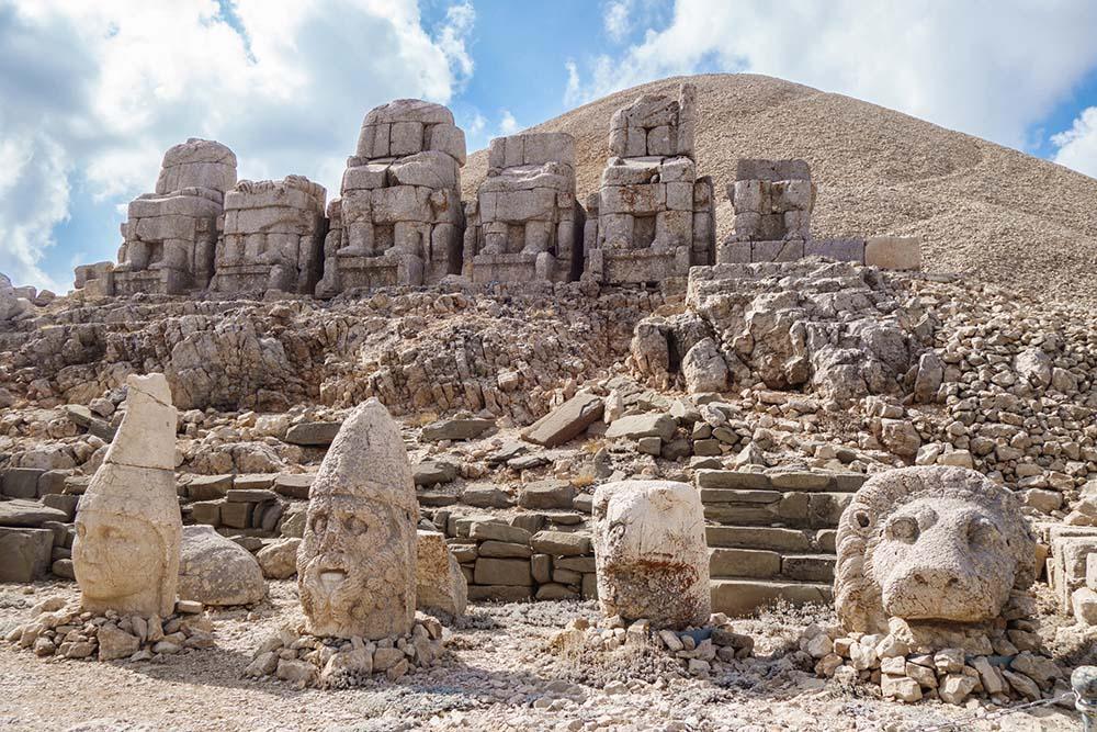 Statues on Mount. Nemrut