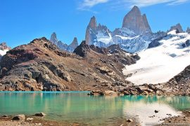 Beautiful landscapes of Los Glaciares National Park