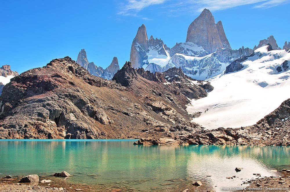 Beautiful landscapes of Los Glaciares National Park