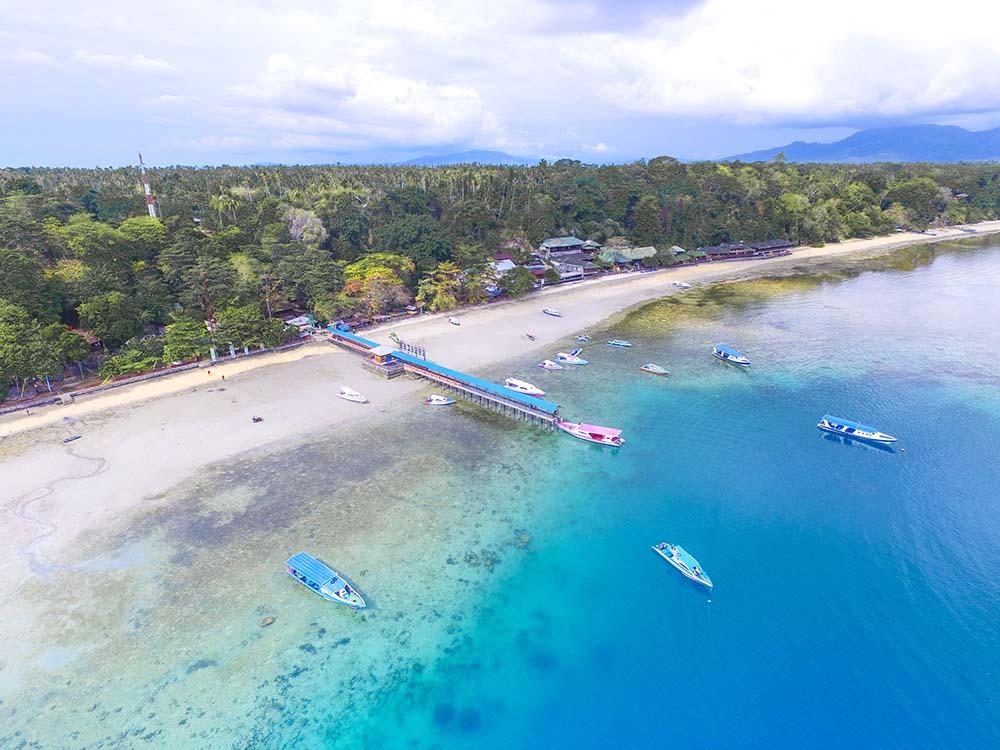 Bunaken port, Indonesia