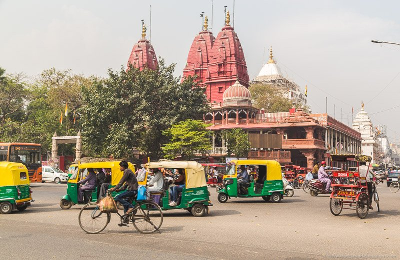 Busy Streets in India
