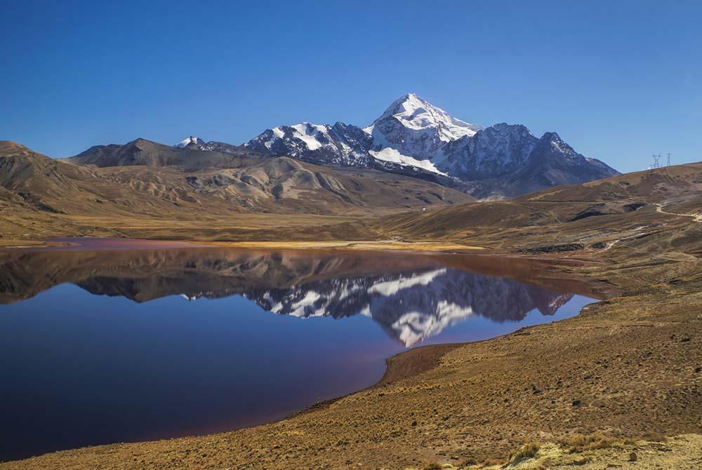 Views towards Huayna Potosi