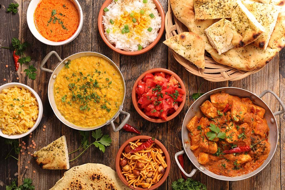 India food selection