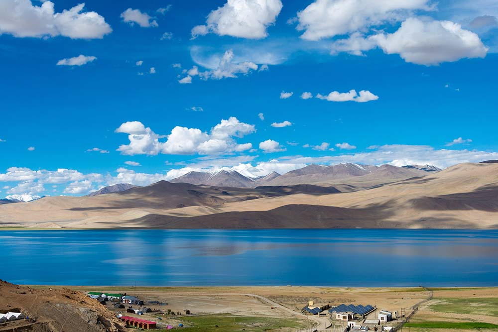 View of Lakes in Ladakh, India