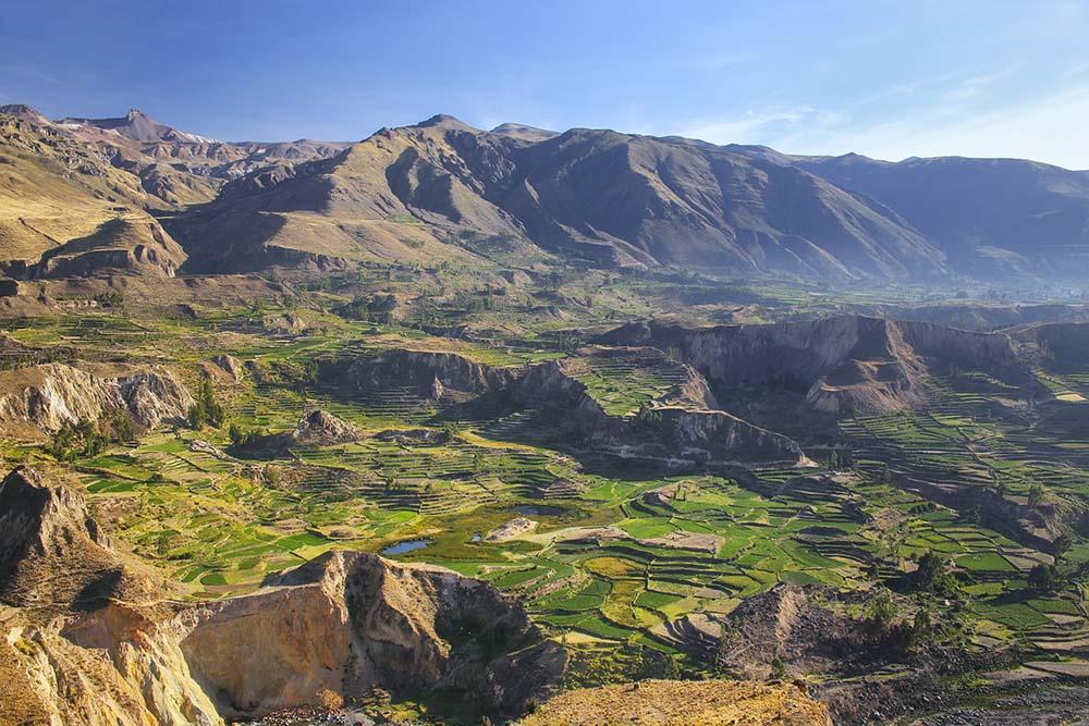 Views of Colca Canyon