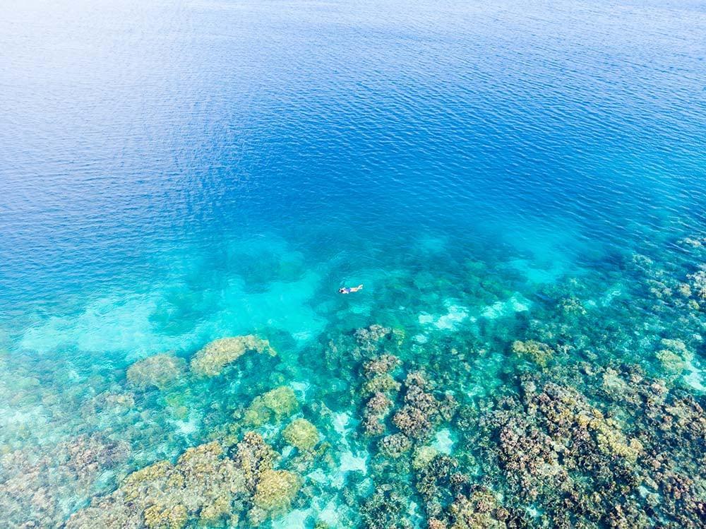 Wakatobi aerial view