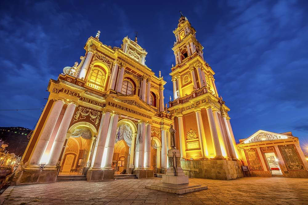 Church of Saint Francis in Salta