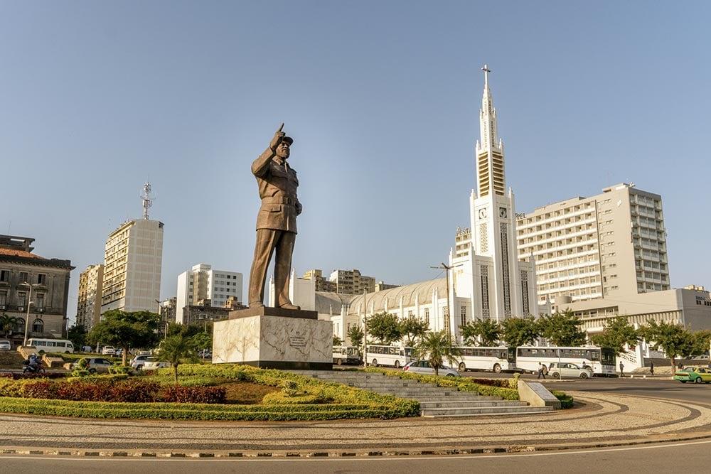 マプトの独立広場