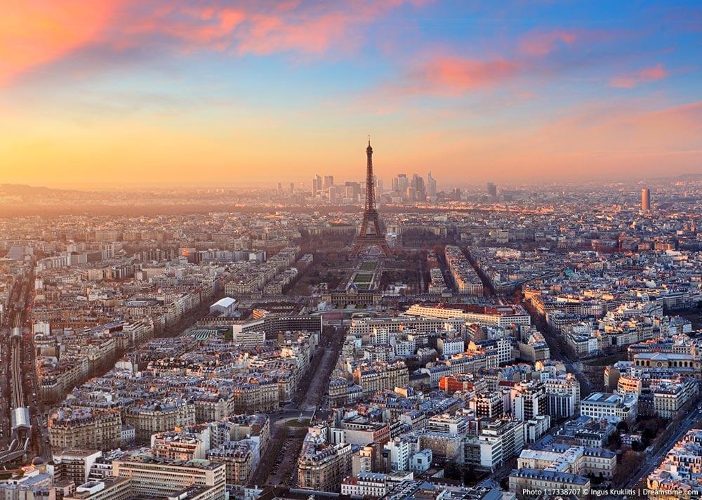 The Paris Skyline