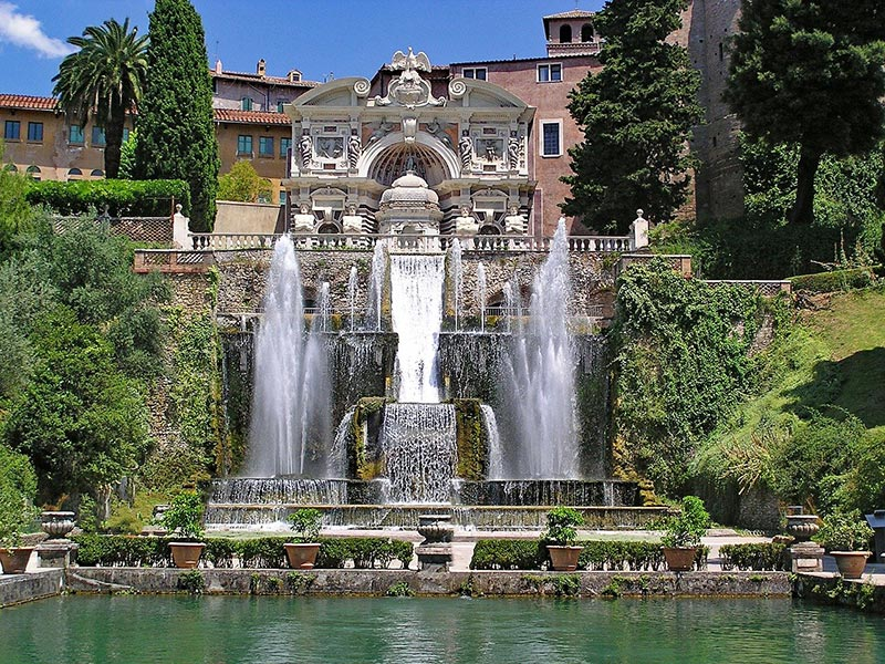 Tivoli in Italy