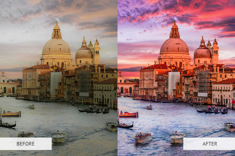 Example of the HDR Effect Preset