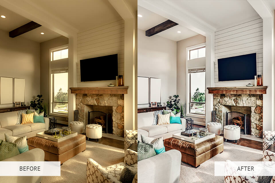Example of HDR Photoshop Actions for Real Estate