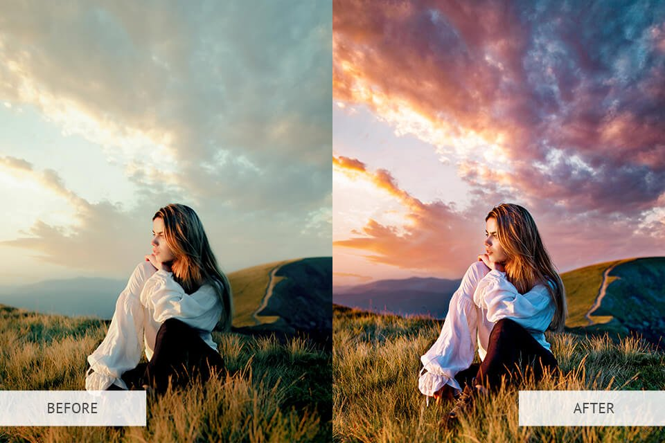 Example of Free Photoshop Actions Presets