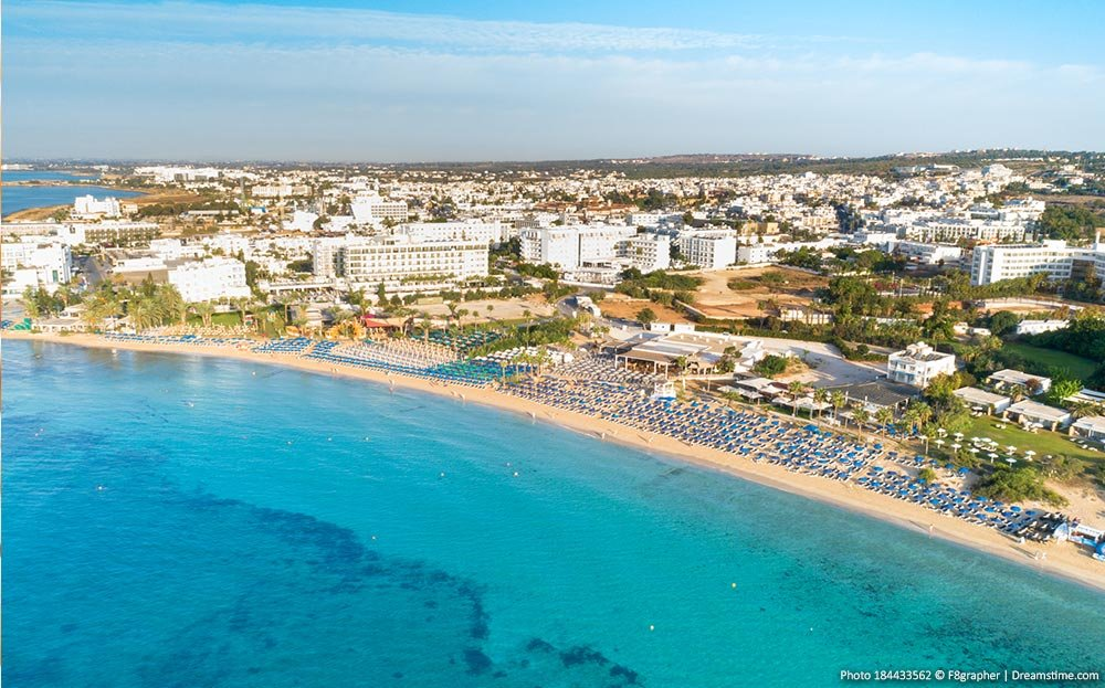 Beaches and coast of Cyprus