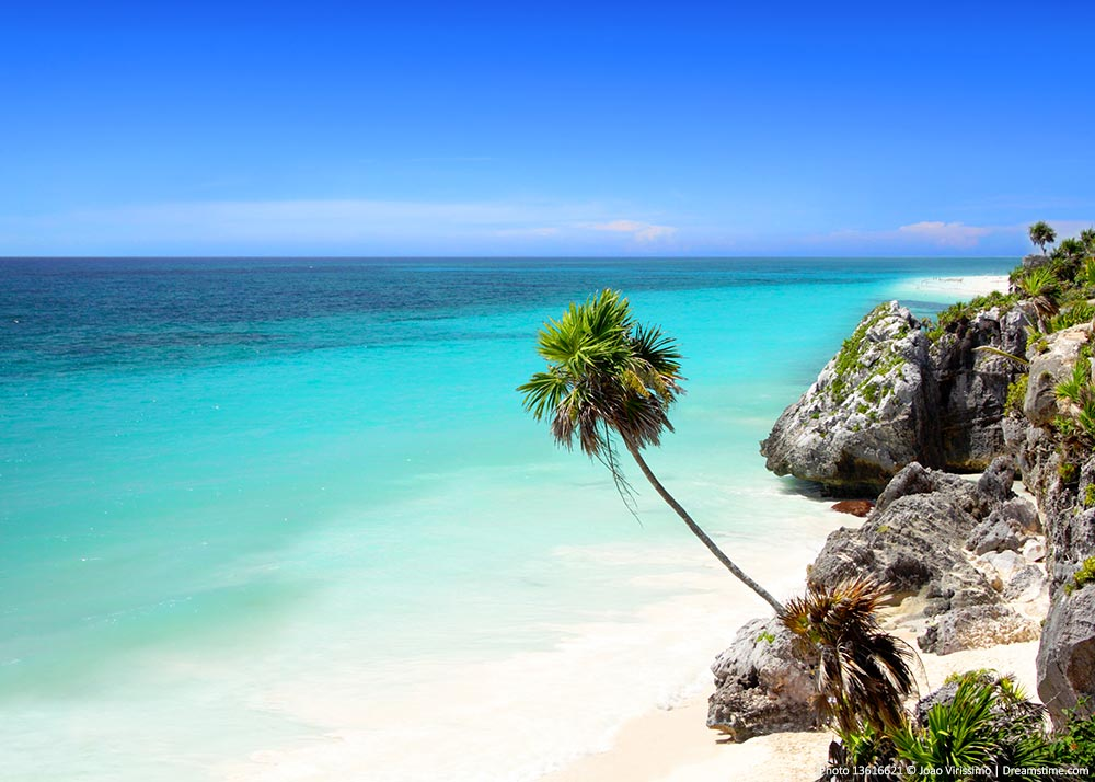 Beautiful Places in Mexico - Beaches along the coast